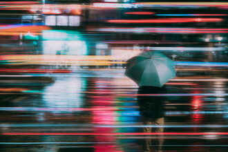 AJ Schokora, Rainy Day Pedestrian (Taiwan, Asia)