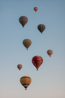 AJ Schokora, Hot Air Balloon Flock (Turkey, Europe)