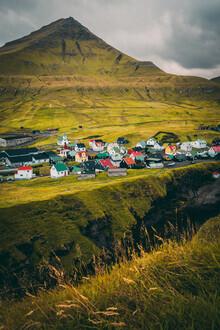 Eva Stadler, Gjógv village  on the Faroe Islands (Faroe Islands, Europe)