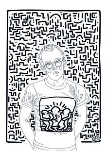 Julia Feller, Keith Haring (Deutschland, Europa)