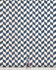 Roc Isern, Patterned wall (Spain, Europe)