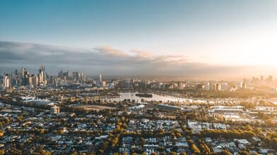 Leander Nardin, melbourne from above (Australia, Oceania)
