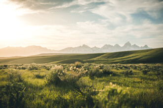 Leander Nardin, Grand Tetons And Grassland (United States, North America)