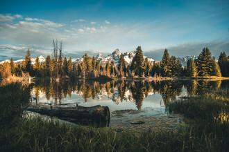 Leander Nardin, Schwabacher Landing In Wyoming (United States, North America)