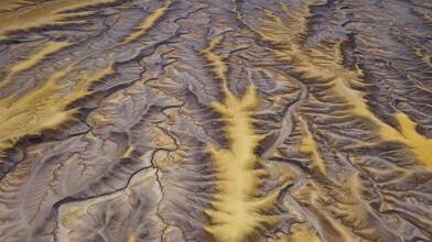 Leander Nardin, golden veines from above (United States, North America)