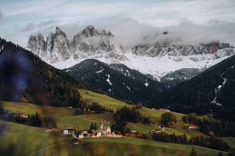 André Alexander, Val di funes (Italy, Europe)