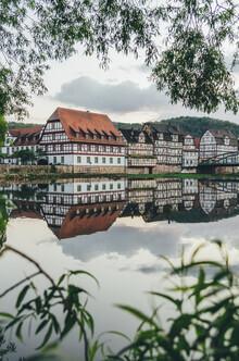 Christoph Schlein, Fachwerkhäuser in Rotenburg an der Fulda (Deutschland, Europa)