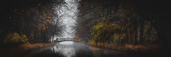 Franz Sussbauer, Brücke im Nymphenburger Park II (Deutschland, Europa)