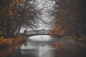 Franz Sussbauer, Bridge at Nymphenburger Park III (Germany, Europe)