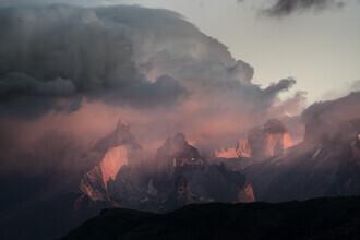 Jordi Saragossa, Los cuernos, in Torres del Paine. (Chile, Latin America and Caribbean)