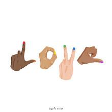 Giselle Dekel, LGBTQ Love (Israel and Palestine, Asia)