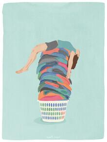 Giselle Dekel, Laundry Day (Israel und Palästina, Asien)