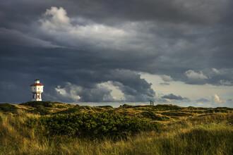 Franzel Drepper, Landschaft mit Wasserturm auf Langeoog C (Deutschland, Europa)