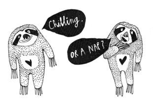The Artcircle, Chilling or a Nap? von Lea Schulze (Deutschland, Europa)
