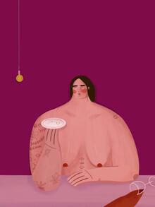 The Artcircle, Die italienische Frau von Oh.Ofi (Deutschland, Europa)