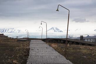 Jens Rosbach, Gletscherweg (Spitzbergen, Europa)