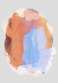Mareike Böhmer, Abstract Brush Strokes 38Z (Germany, Europe)