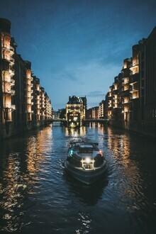 Patrick Monatsberger, Hamburg City at night (Germany, Europe)