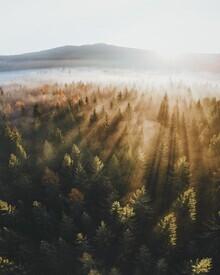 Patrick Monatsberger, Sunrise over the Fichtel Mountains (Germany, Europe)