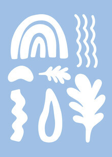 Seven Trees Design, Abstrakte glückliche Formen (Kolumbien, Lateinamerika und die Karibik)