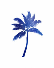 Seven Trees Design, Blue Palm Tree (Germany, Europe)