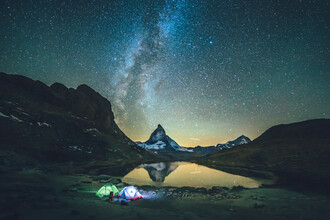 Lennart Pagel, Mighty Matterhorn at Night (Switzerland, Europe)