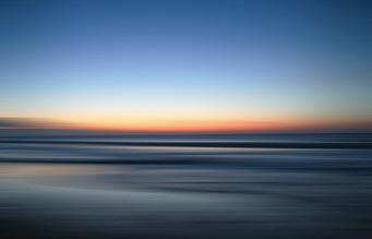 nordsee by nacht II - fotokunst von Tim Bendixen