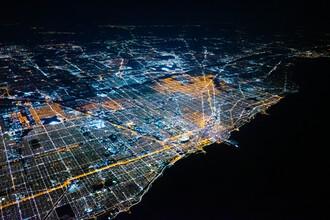 Inflight Galerie, Chicago nights (Vereinigte Staaten, Nordamerika)