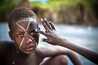 Miro May, Suri Bodypainting (Äthiopien, Afrika)