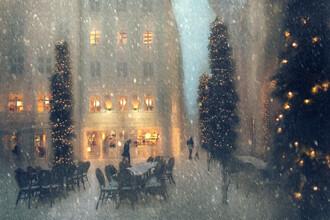 Roswitha Schleicher-Schwarz, Weihnachten in der Stadt (Deutschland, Europa)