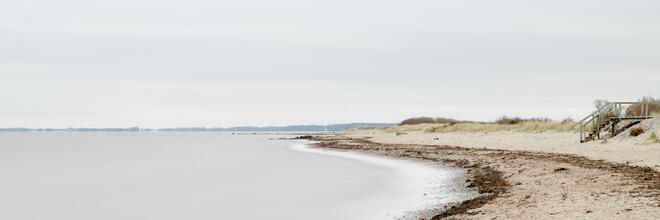 Dennis Wehrmann, Strandpanorama Ostsee (Deutschland, Europa)