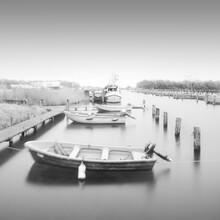 Dennis Wehrmann, Boote im Nebel (Deutschland, Europa)