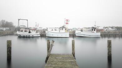 Dennis Wehrmann, Fishing boats in mist (Germany, Europe)
