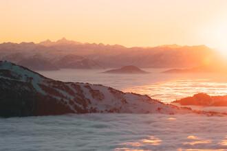 Sebastian 'zeppaio' Scheichl, Sunset above the clouds (Austria, Europe)