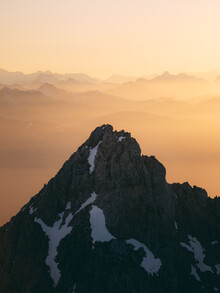Sebastian 'zeppaio' Scheichl, Mountain top in the evening light (Austria, Europe)