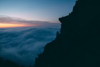 Sebastian 'zeppaio' Scheichl, A mountain tongue above the clouds (Austria, Europe)