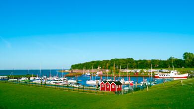 Vision Praxis, Sande #1 - Ein kleiner Hafen an der Nordsee (Deutschland, Europa)
