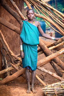 Miro May, Suri Village (Ethiopia, Africa)