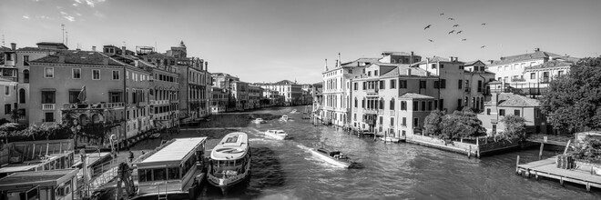 Jan Becke, View of the Canal Grande in Venice (Italy, Europe)