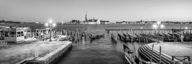 Jan Becke, Venice lagoon with view of San Giorgio Maggiore (Italy, Europe)