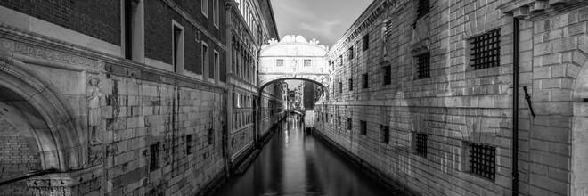 Jan Becke, Seufzerbrücke in Venedig (Italien, Europa)