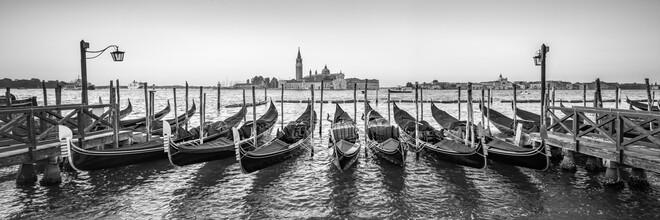 Jan Becke, View of San Giorgio Maggiore in Venice (Italy, Europe)
