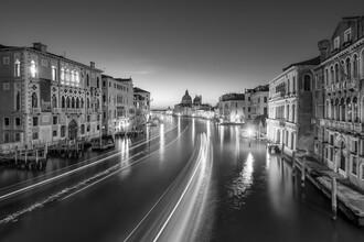 Jan Becke, Canal Grande at night (Italy, Europe)