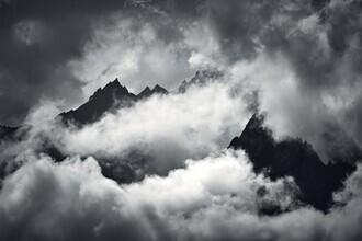 Alex Wesche, Wolkenverhangene Bergspitzen (Deutschland, Europa)