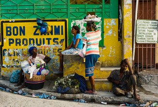 Michael Wagener, Straßenszene aus Port aux Prince (Haiti, Latin America and Caribbean)