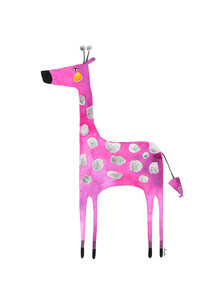 The Artcircle, Die pinke Giraffe von Bianca Peters (Deutschland, Europa)