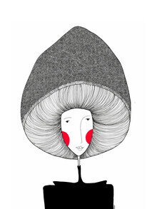 The Artcircle, Lady Mushroom von Bianca Peters (Deutschland, Europa)