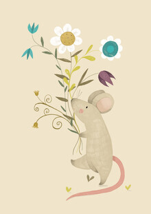 The Artcircle, Blumen-Maus von Judith Loske (Deutschland, Europa)