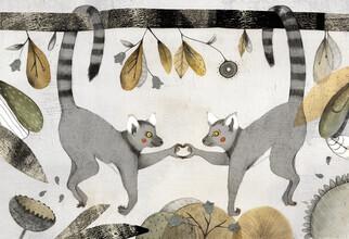 The Artcircle, Verliebte Lemuren von Judith Loske (Deutschland, Europa)