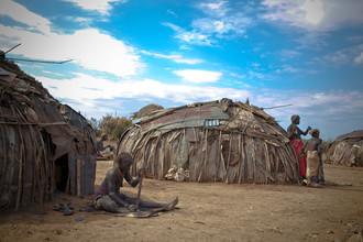 Miro May, Dassanech village (Äthiopien, Afrika)